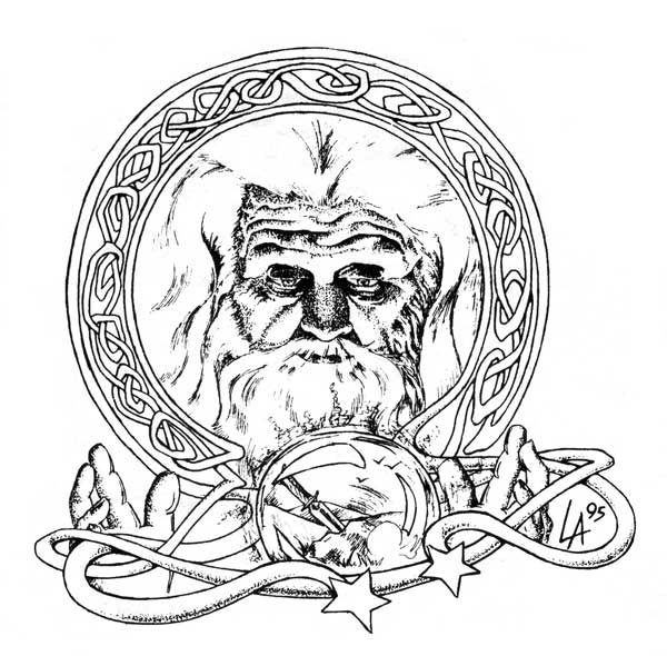 Merlin the magician or olde faerie lore