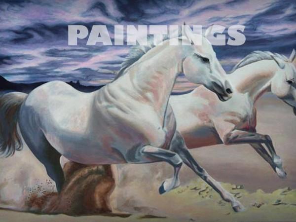 <span>Portfolio of Paintings</span><i>→</i>